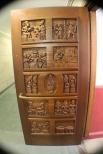 Wood Door in Nationality Room - University of Pittsburgh