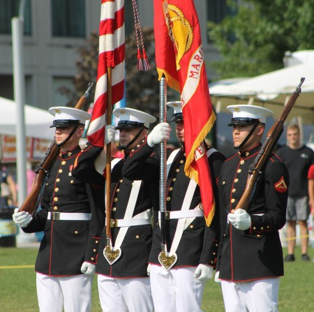 U.S. Marines Drum and Bugle Corp