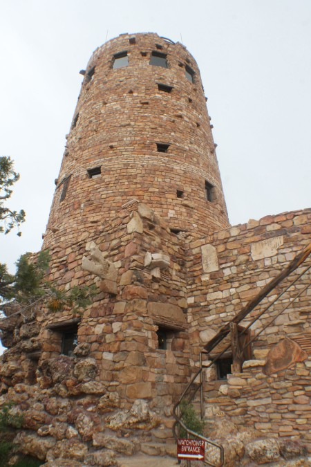 The Watchtower at Desert View Grand Canyon