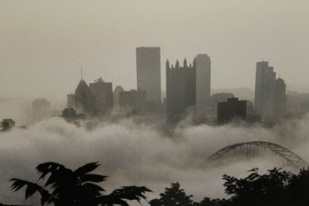 Foggy Pittsburgh