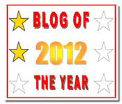 Blog of the Year Award 2 star thumbnail