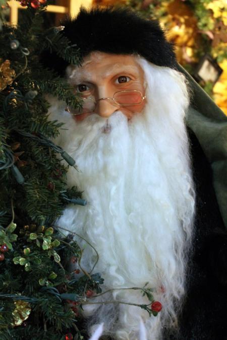 Santa in Green