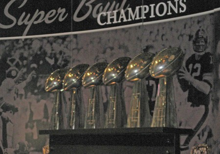 Six Super Bowl Trophies