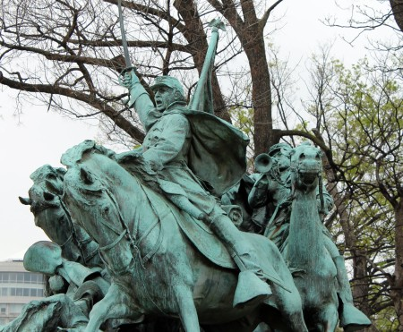 CAVALRY CHARGE IN WASHINGTON DC