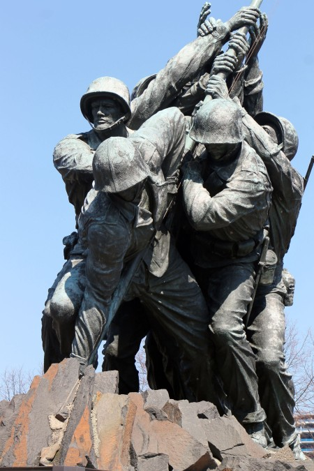 US MARINE CORPS WAR MEMORIAL